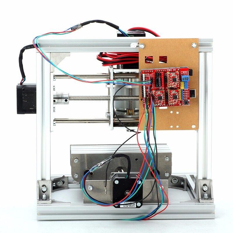 3 Ejes CNC Molino de Escritorio Hágalo usted mismo Mini Madera Usb Router grabador PCB Fresadora De Madera Mini 42dbef