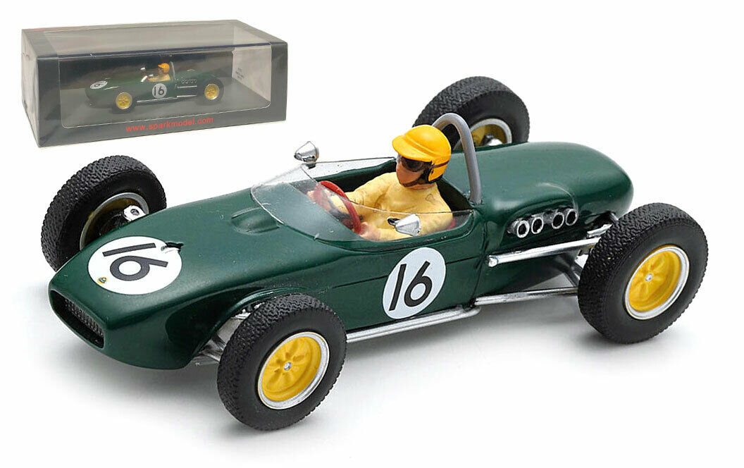 Spark S5359 Lotus 18 Dutch GP 1961 - Trevor Taylor 1 43 Scale
