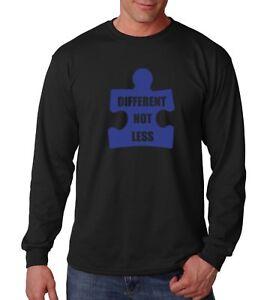 Long-Sleeve-Different-Not-Less-Shirt-Autism-Awareness-T-Shirt-Autism-Dad-Tee