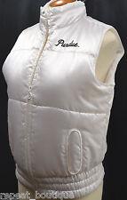 Purdue University puffer vest sleeveless JACKET Nike Coat  zip top satin M NEW
