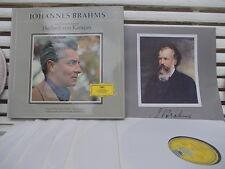 BRAHMS: 4 symphonies Requiem Violin concerto Var> Ferras Karajan / DGG Tulip SKL