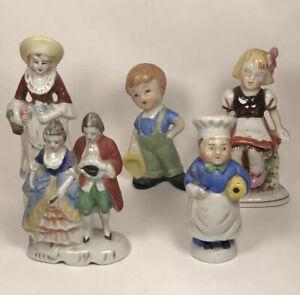 Vintage Lot Of 5 Occupied Japan Figurines Statues Figures Ebay