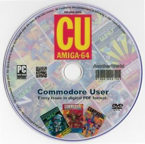 COMMODORE-USER-Magazine-Collection-on-Disk-ALL-78-ISSUES-C64-AMIGA-C16-Games-CU