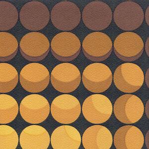 Details About Mod Bubbles Original Geometric 60s 70s Vintage Designed Wallpaper