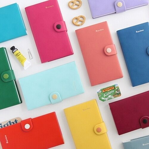 [Rainbow Diary-Small Undated] Weekly Monthly Yearly Journal Planner Scheduler