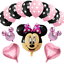 Disney-Minnie-Mouse-Birthday-Balloons-Foil-Latex-Party-Decorations-Gender-Reveal thumbnail 4