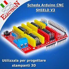 Arduino CNC SHIELD V3 - A4988 Driver Expansion 3D Printer Engraver DRV8825