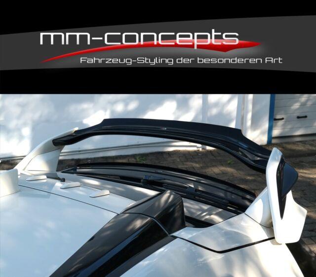 Cup alerón enfoque set negro para Honda Civic x 10 R FK alerón ABS