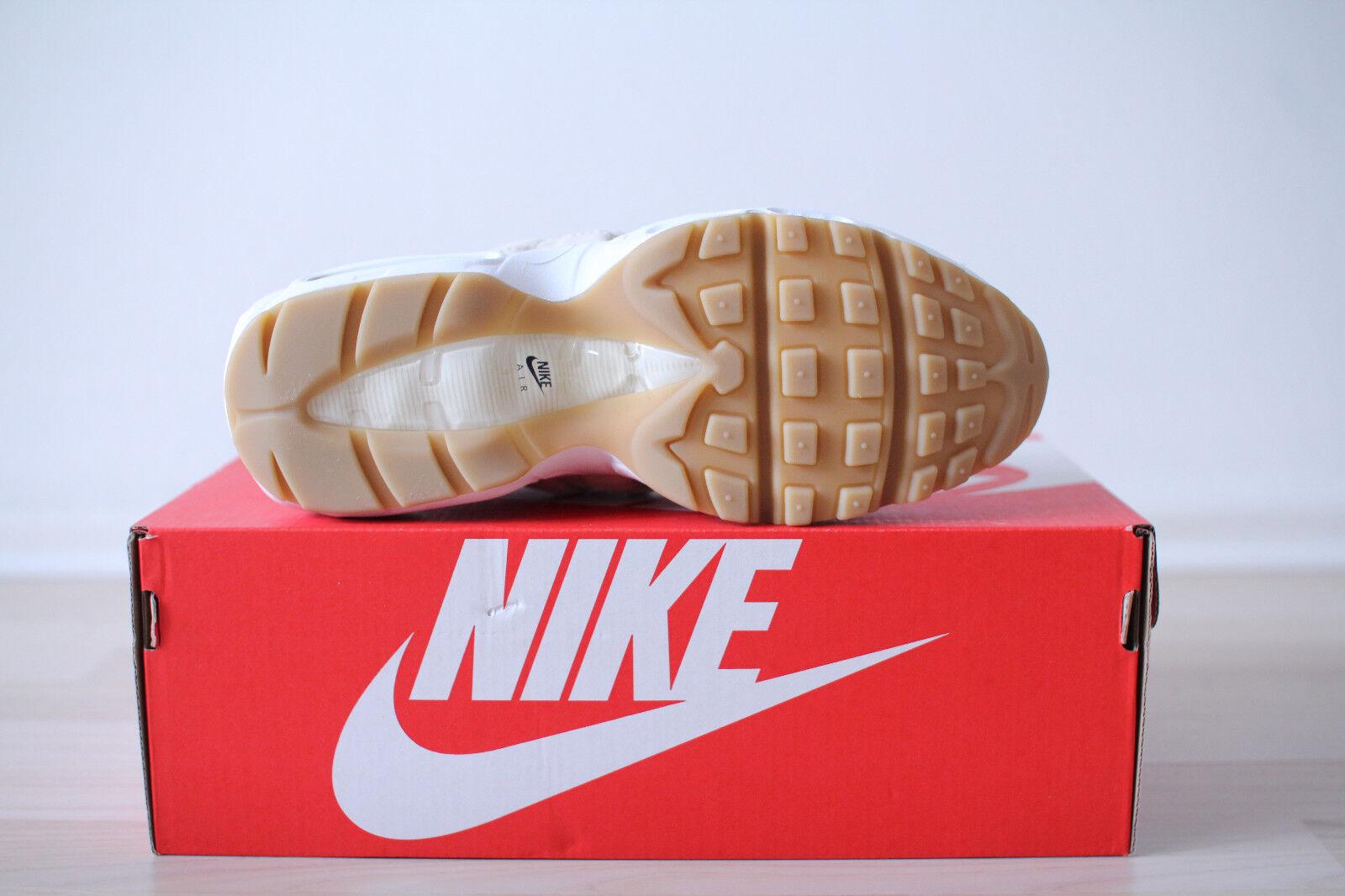 Nike Air Max 95 PRM PRM PRM SD WMNS Beige Weiß Gr. 38 UK 4,5 NEU & OVP 6946f5