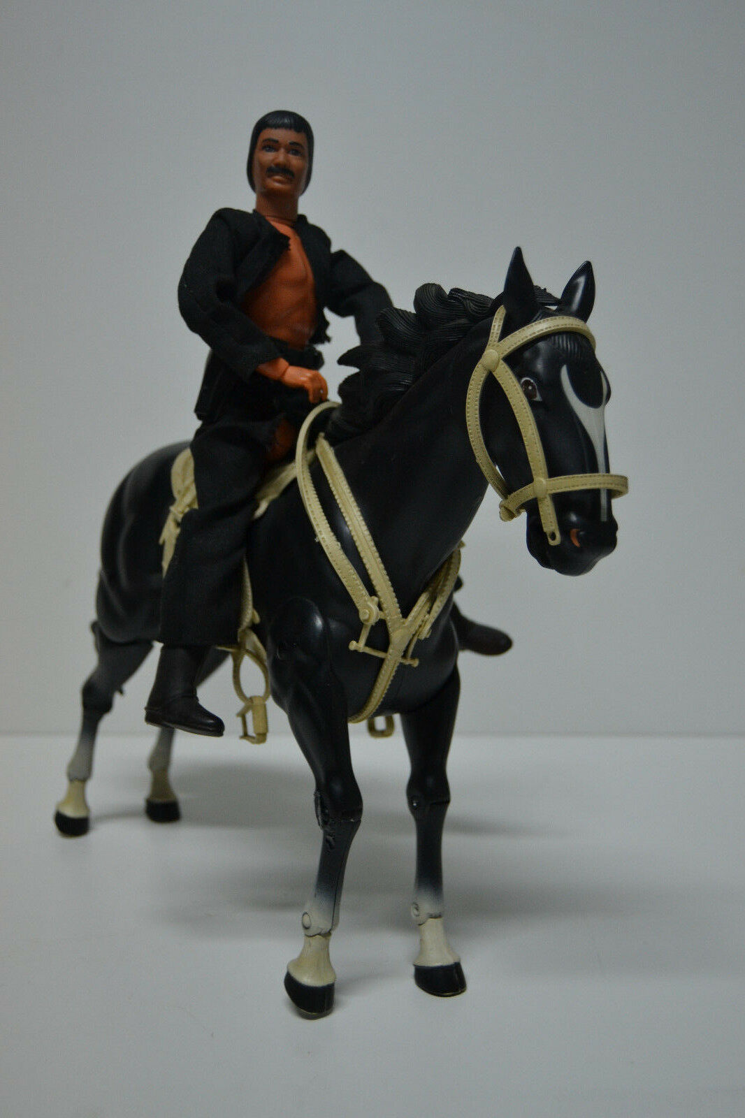 Figuras Caballo y Butch Cavendish - Lone Ranger 1973 - Made in Hong Kong