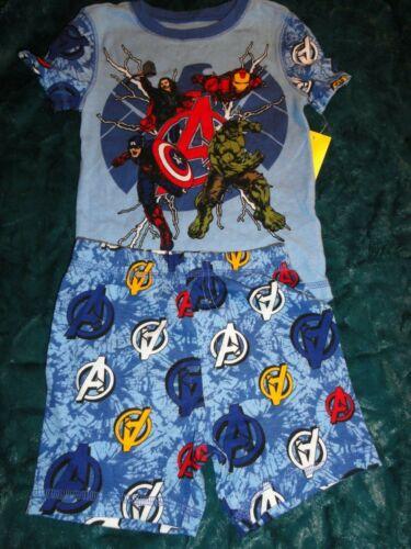 Size 4 Marvel Avengers Shortie Pajama/'s NWT Disney Store