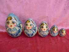 Emebellecedor,antiguo,rusa lacado__matroska,Maruschka,Babuschka__pintado a mano