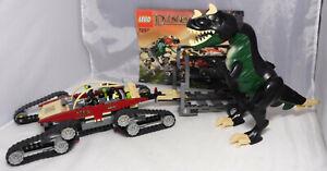 LEGO-Dino-2010-7297-Dinotransporter-Kettenfahzeug-Dino-Track-Transport-komp-Ba