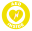thumbnail 9 - AED Inside Circle Emblem Vinyl Decal Window Sticker Car