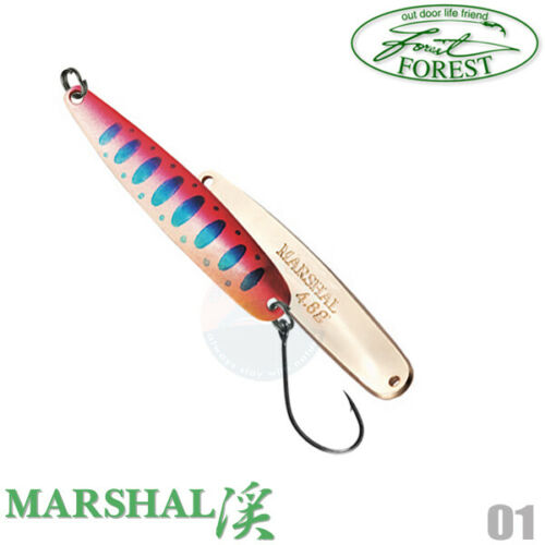 Forest MARSHAL NATIVE 4.8 g 48 mm Native Trout Spoon Assorted Colors