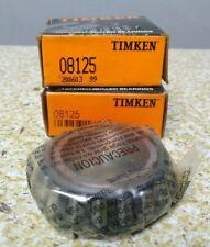 Timken 08125 Roller Bearing Cone Lot Of 2 Nos