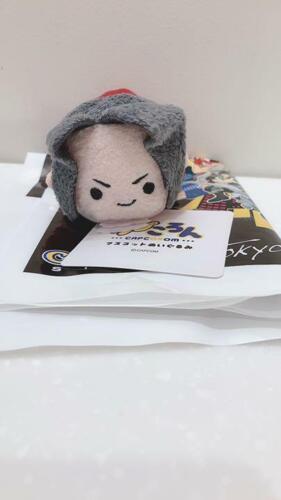 CAPCOM STORE TOKYO Limitd CAP CORON Plush Mascot Miles Edgeworth JAPAN OFFICIAL