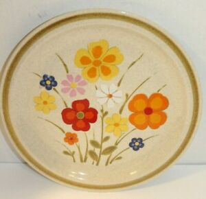 Lot-4-Vintage-COUNTRY-LIVING-Dinner-Plates-Stoneware-Linda-SY-10974-Japan-10-5-034