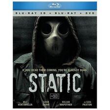 Static (Blu-ray/DVD, 2013, 3-Disc Set, 3D/2D)
