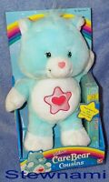 Care Bear Cousins Proud Heart Cat 12 Inch Plush Doll W/ Vhs
