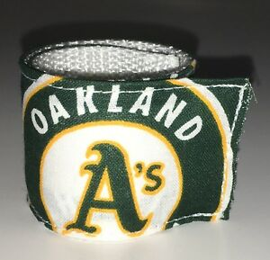 san francisco 9cf68 1a9b9 Details about Oakland Athletics A's Wristband MLB Pro Shop Baseball Game  Team Apparel Fan Gear