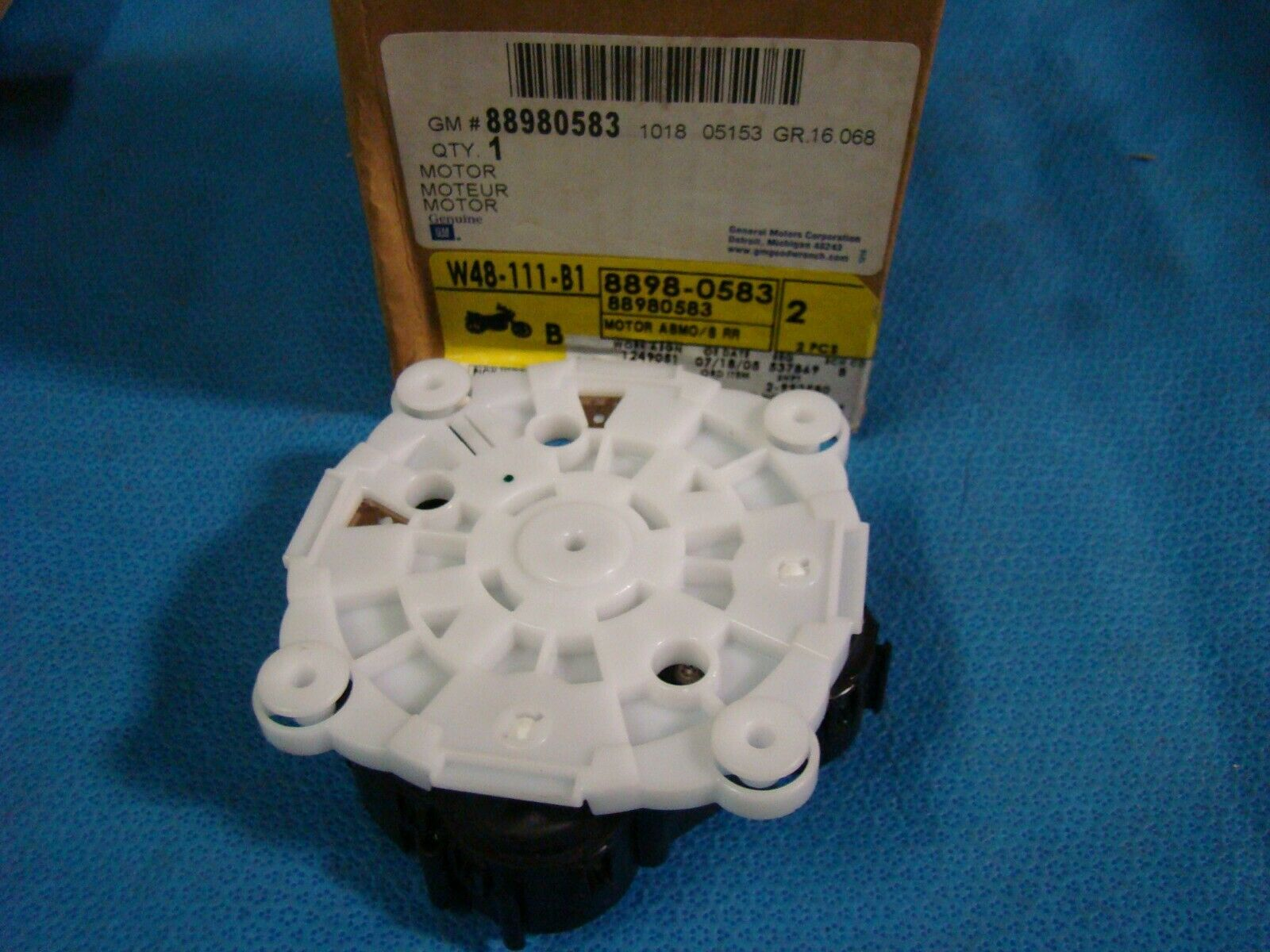 Genuine GM 88980583 Rear View Mirror Inner Actuator Outside