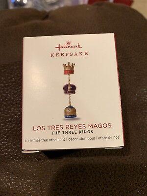 2018 Hallmark Keepsake LOS TRES REYES MAGOS The Three Kings Metal Ornament NEW