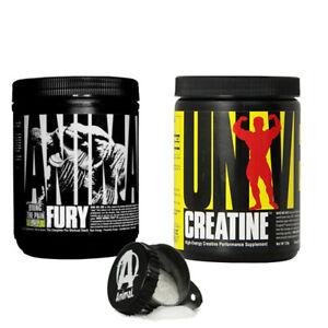 Universal-Animal-Fury-80g-creatina-Creapure-120g-perfetto-Pre-Allenamento-Stack