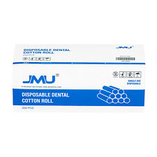 250pcs Dental Surgical Cotton Rolls Non Sterile 2 Medium Disposable