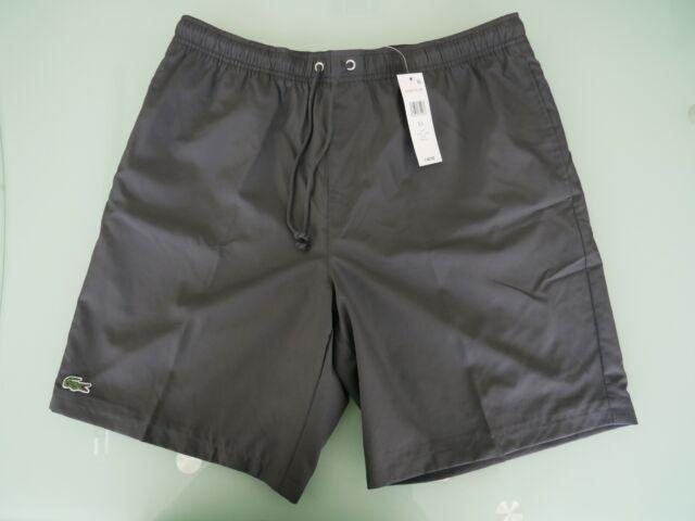 Lacoste Mens 2019 Sport Fleece Brushed Tennis Training Classic Shorts