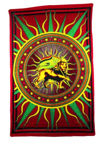 Couverture de jour wandtuch Bettüberwurf Bed Cover Lion of Zion Ganesh soleil éléphant