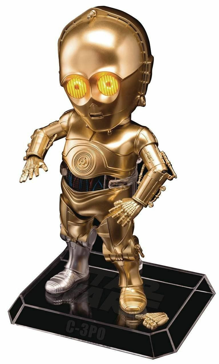 Star wars ep5 eaa-008 c - 3po previews exklusive action - figur