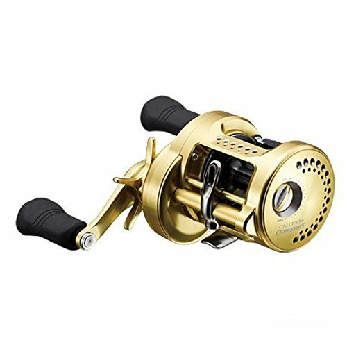 Shimano Calcutta Conquest 400 RH Baitcasting Reel For Bass Game Fishing JP