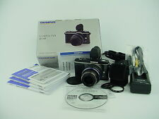 Olympus PEN E-P2 12.3 MP Digital Camera - Black w/ 14-42mm Lens & VF-2 Finder