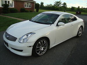 2006-Infiniti-G-G35-Coupe-Automatic-Most-wanted-WHITE-Color