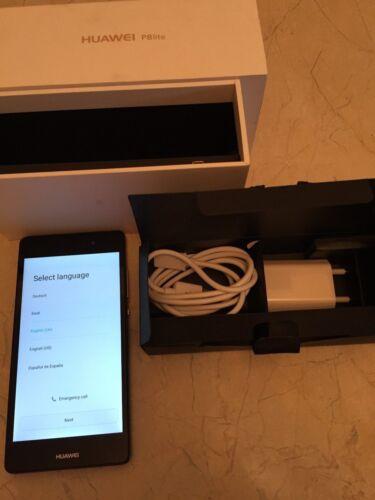 1 von 1 - Huawei P8 Lite - 16GB - Schwarz (Ohne Simlock) Smartphone