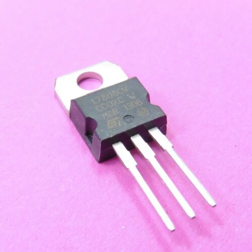 Regulador de voltaje lineal L7808CV 7808 fijo positivo 8V 1.5A TO-220