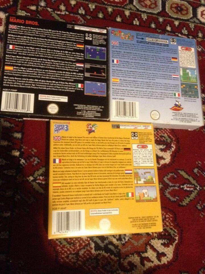 super mario bros 1+2+3, Gameboy Advance