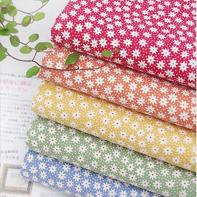 "Fat Quarter 18""*22"" 5 Piece Assorted Pre-cut FIVE COLOR SERIES Cotton Fabric"