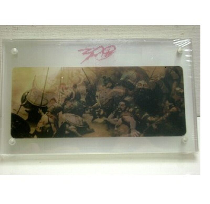 Lot of 12 12 12  Movie 300 Holographic Photo 3x5 magnetic acrylic frame Warner Bros. fd910e