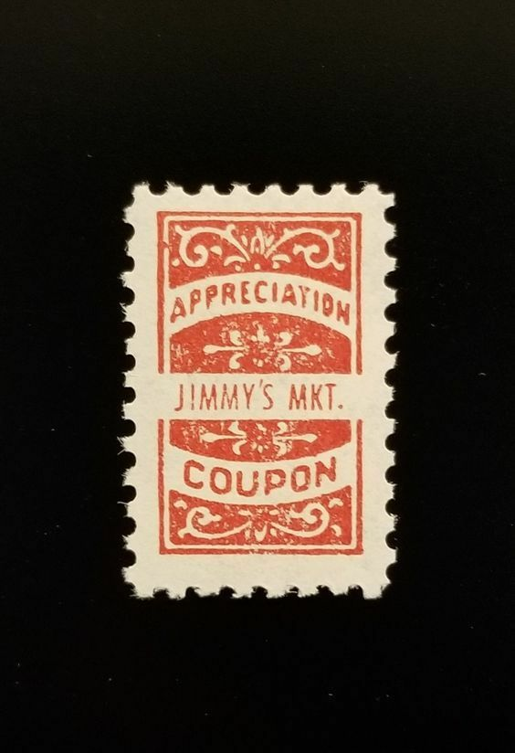 Jimmy's Market Appreciation Coupon, Extremely Rare