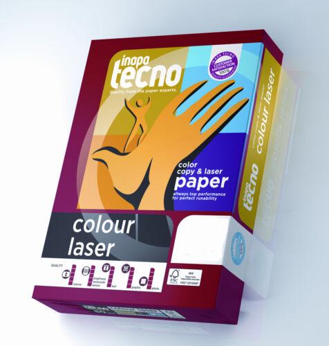 Inapa Tecno colour Laser 80g//m² DIN-A3 500 Blatt 171 Weiße