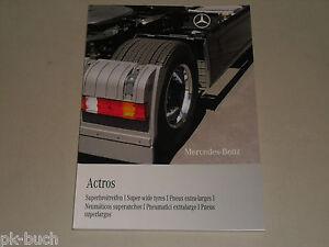 (Adicional Manual de Instrucciones Mercedes Benz Actros Cintas Anchas, 05/2009