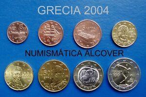 Euros Grecia 2004 Serie Completa S/c - Greece Set 0yiryl6a-07225944-501488194