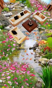 Jardín de Color 3D 42 Impresión De Parojo Papel Pintado Mural de piso 5D AJ Wallpaper Reino Unido Limón