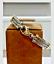 Bracelet-Homme-Jonc-or-18-carats-et-Acier miniature 1