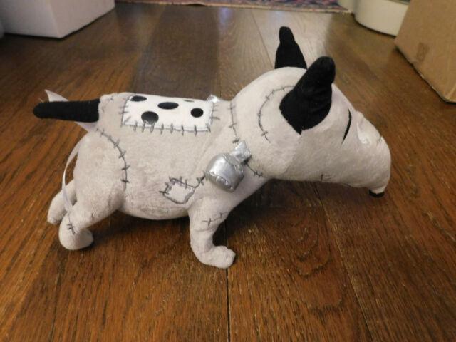 Disney Tim Burton S Frankenweenie Sparky Plush Doll Cute Dog And Clwon Soft Toy For Sale Online Ebay