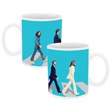 The Beatles Abbey Road Album Cover 12 oz Ceramic Coffee Mug, NEW UNUSED BOXED