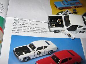 Corgi 303 Roger Clarks Rally Ford Capri De 1970 Original Playworn Light Car