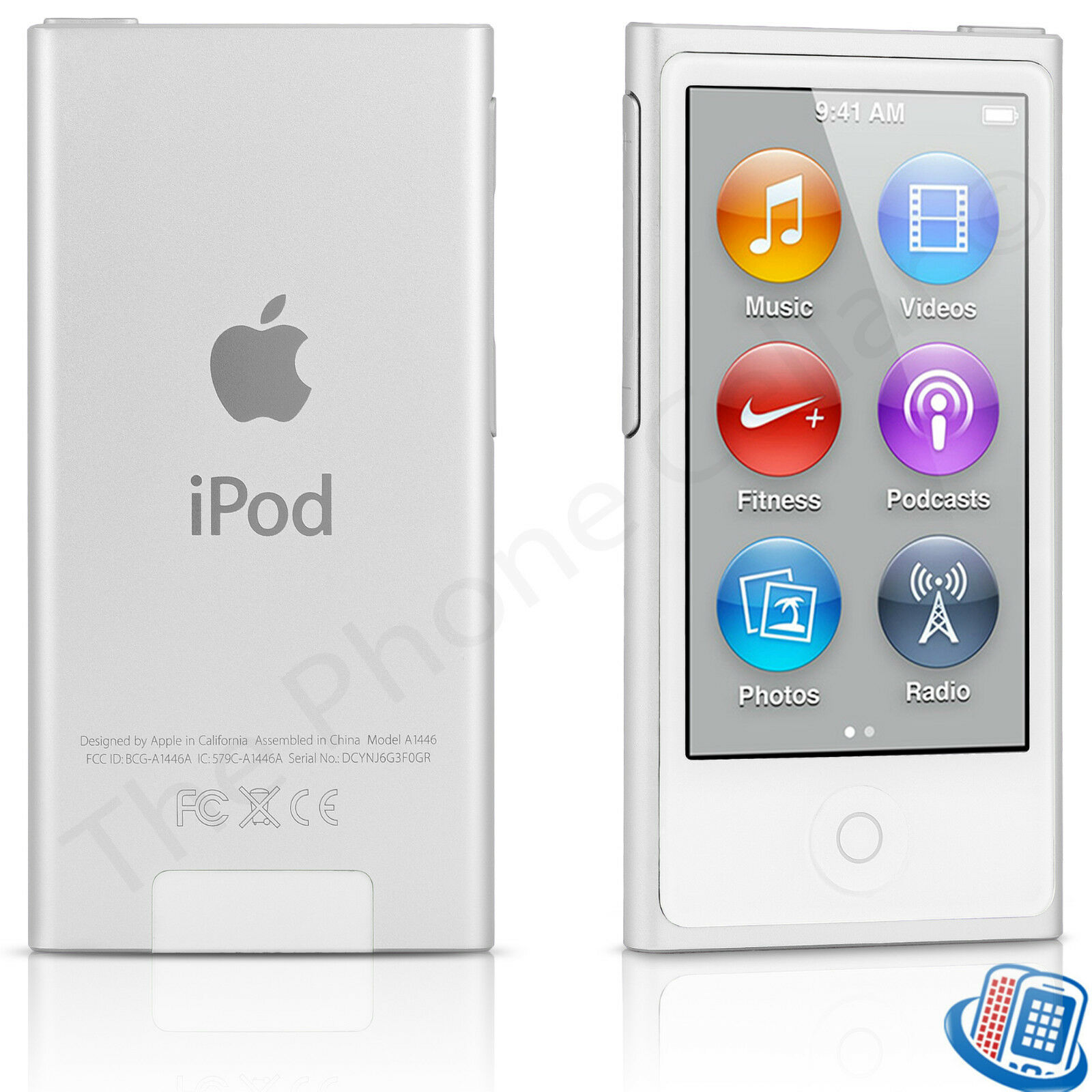 apple ipod nano 8th generation silver 16gb bluetooth touch. Black Bedroom Furniture Sets. Home Design Ideas